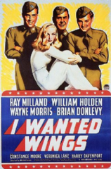 I Wanted Wings 1941 DVD - Ray Milland / William Holden